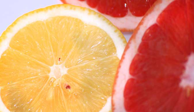 Lemon-and-grapefruit